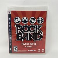 Rock Band Track Pack: Vol. Volume 2 (Sony PlayStation 3, 2008) PS3 Complete