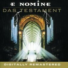 E NOMINE / DAS TESTAMENT * NEW CD * NEU *