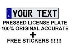 CUSTOM Customized Personalized European Union Euro License Plate Germany German