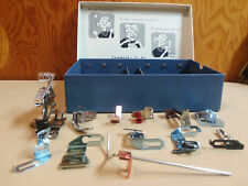 Vintage Kenmore Sew By Color Presser Foot Accessory Kit 60837 Complete Set