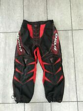 Proto Paintball pants/ trousers/ bottoms black / Red - size Medium