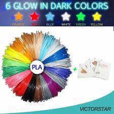 VICTORSTAR 3D Penna Filamento Ricarica PLA 26 Colori - 520 Piedi Lineari (160M)