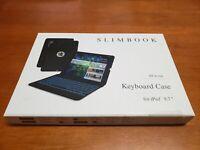 Yekbee Slimbook 360X Rosegold Keyboard Case (iPad 9.7) New