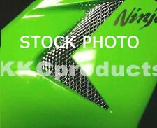 2004-2005 ZX10R Ninja 6pc NEP Chrome Fairing Grilles Grills Screens Vents Mesh