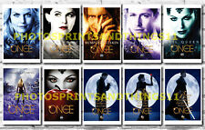 ONCE UPON A TIME -  TV POSTERS POSTCARD SET # 1