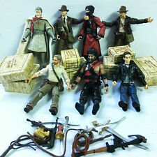 Lot 7 Hasbro Indiana Jones Collection MUTT WILLIAMS CRYSTAL SKULL Movies Figure