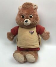 Vintage Animated Teddy Ruxpin 1985 Worlds of Wonder Parts/Repair Untested