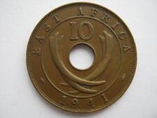 Afrique de l'Est 1941 bronze 10 cents, GVF.