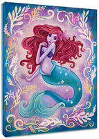"Redhead Mermaid Girl Canvas Art Wall Oil Painting Artwork Home Decor 16*20"""