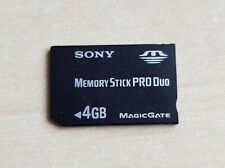 Official SONY Memory Stick PRO Duo 4GB Magic Gate Genuine Card PSP