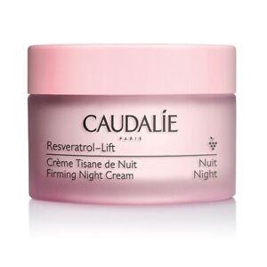 Caudalie NEW Resveratrol Lift Anti Wrinkle Firming Night Infusion Cream 50ml