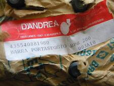 D`Andrea BPS200 Zweischneider-Bohrschienen NEU mit Rechnung