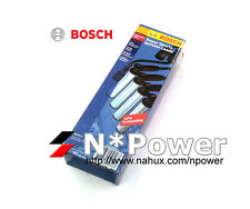 BOSCH SPARK PLUG LEADS WITH HEAT SHIELD FOR HOLDEN COMMODORE VX 10.00-09.02 3.8L