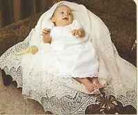 "Shetland Lace Baby Shawl Knitting Pattern 1ply  60"" square 831"