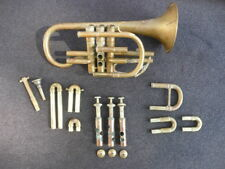 GREAT PLAYER OLD FRENCH Bb CORNET MADE AROUND 1880!