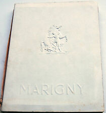 Théatre Marigny,1953 - 2 Publications Presented in Embossed Cover/Limited to 100