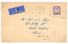 T190 1963 GB QEII Regionals SG.S3a (2 Bands) Fine Usage Cover PTS