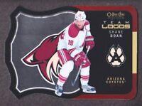 2015-16 O-Pee-Chee Platinum Team Logo Die Cuts #T-2 Shane Doan Arizona Coyotes