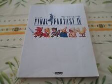 >> FINAL FANTASY IV 4 SQUARESOFT RPG SUPER FAMICOM PIANO SCORE BOOK! <<