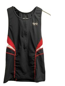 TYR Competitor  Multi-Sport Top - Red/Black, Sleeveless, Women's, XL