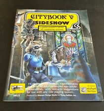 Citybook V: Sideshow - 5 gamemaster aid roleplaying game book all-system #8515