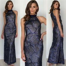 Gorgeous Dress Formal Wedding Guest Size 16 NAVY Ball Gown