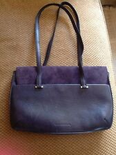 Costume National Handbag! Excellent! Blue/purple! Pockets! Huge Retail!! Italy!!