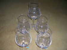 A set of five glasses by Riedel of Austria