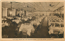 "SINGAPORE RAFFLES HOTEL ""BALL ROOM FOR CRUISE DINNER"" POSTCARD"