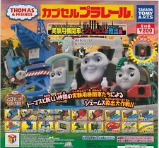 Thomas Capsule Plarail Experimental Engines and Rescue of James Comp Set (18+1)
