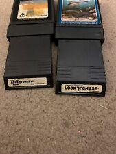 Atari.4GameBundleHaunted House, Shark Attack, Lock N Chase, Adventures Of Tron.