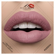 MODELROCK Liquid to Matte Lipstick PORSHA model rock last vegan