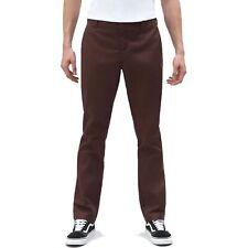 Dickies 872 Herren Slim Fit Work Pant Chino Cargo Hose Chocolate Brown Braun