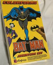 Vintage Batman Colorforms Adventure Set - 1989 - NEW - Factory Sealed