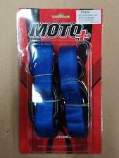 HEAVY Duty  MOTORCYCLE TIE DOWNS MOTORBIKE  STRAPS *Blue* ( Made in Taiwan)