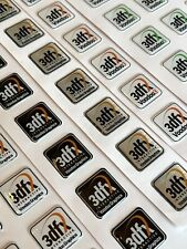 3Dfx Interactive Voodoo 2000 3000 4500 5500 Computer Case Badge Sticker DOME 1x1