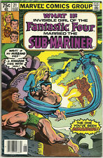 What If #21 FN+ Jun 1980 Fantastic Four Invisible Girl Sub Mariner Gene Colan