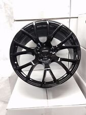 "2 NEW Dodge SRT Hellcat 20"" Gloss Black Wheels OE 20x10 Charger Challenger 300"