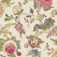 Textiles français Oriental Tree of Life 280 cm wide fabric Multicolour