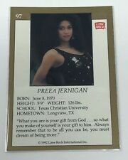1992 Lime Rock Pro Cheerleaders Preea Jernigan #97