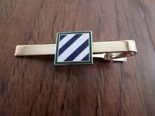 U.S MILITARY U.S ARMY 3rd INFANTRY TIE BAR OR TIE TAC CLIP ON TYPE U.S.A MADE