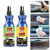 Car Polish Wax Leather Plastic Retreading Agent Automotive Interior Cleaner Spra