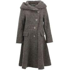 Cappotti e giacche da donna marrone in lana taglia M