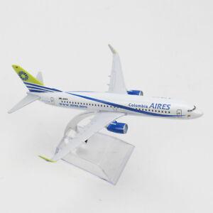 1/400 HK4623 16cm Boeing 737 Colombia AIR Aircraft B737-800 Diecast Model Plane