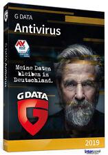 G data anti virus 2019 versión completa 1 PC - 1 año + manual download nuevo