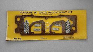 NOS WESTERN GERMANY PORSCHE 911 914-6 CORK LOWER VALVE COVER GASKET SET KIT