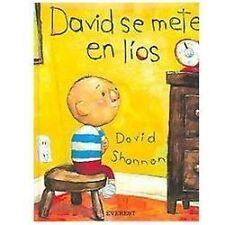David Se Mete En Lios / David Gets in Trouble (Coleccion Rascacielos)-ExLibrary