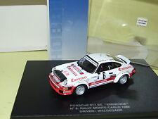 PORSCHE 911 SC EMINENCE MONTE CARLO 1982 WALDEGARD UNIVERSAL HOBBIES