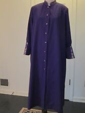 Anointed Female Purple Clergy Robe, NEW sizes 6 to 24 available in other colors