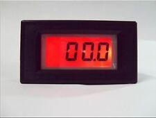 3 1/2 200V RED LCD Digital Panel Voltmeter 0-199.9V  Power Range DC 6V-15V
